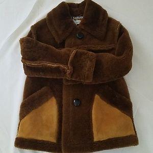 Coach Shearling Lamb coat size 2